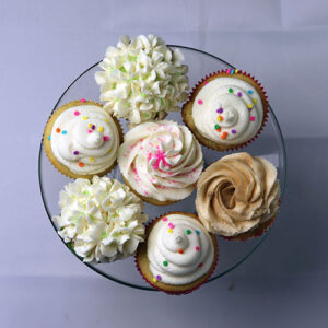 12 Custom Cupcakes
