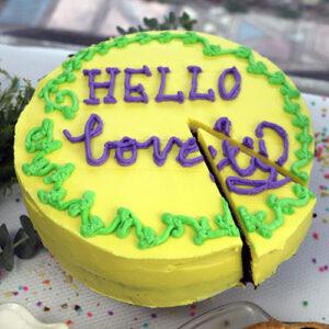 9″ Custom Cake