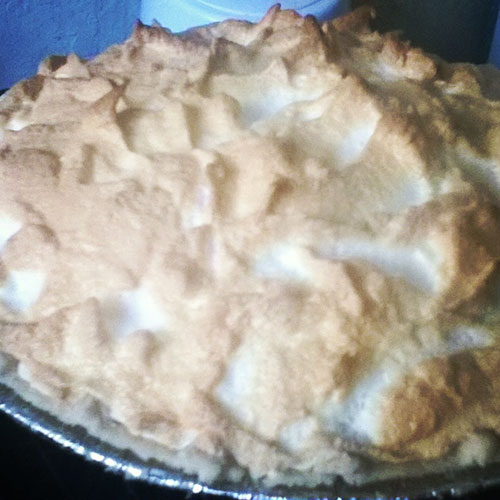 gluten free lemon merengue pie