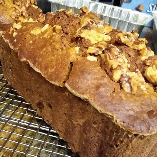 gluten free pumpkin sweet loaf