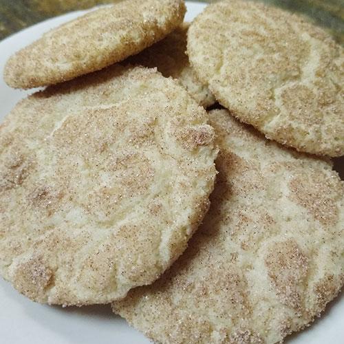 gluten free snickerdoodle cookie