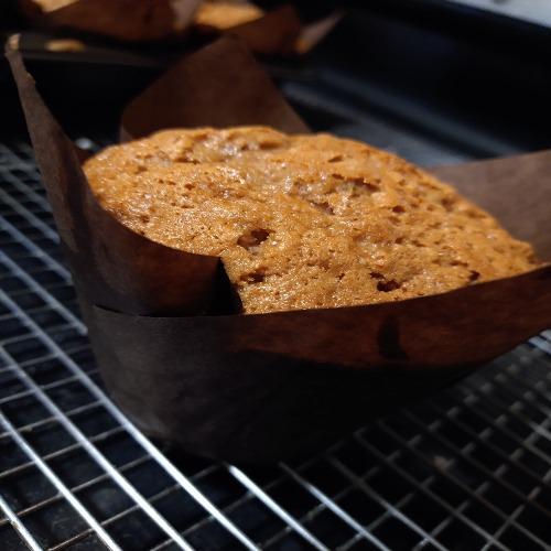 gluten free zucchini bread muffin