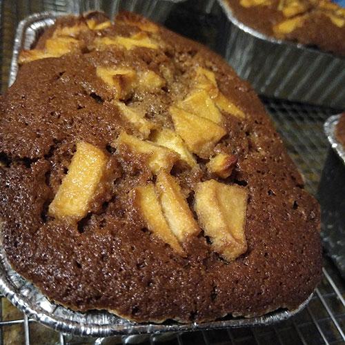 gluten free apple cinnamon swirl bread