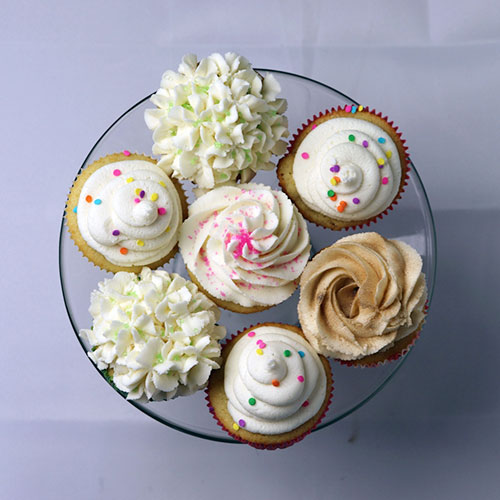 assortment of gluten free cupcakes