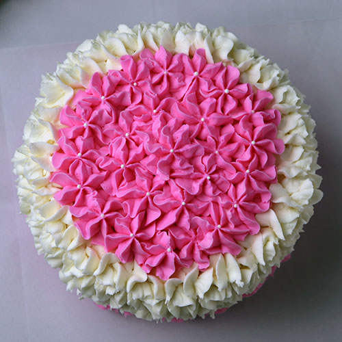 Floral Frosting style