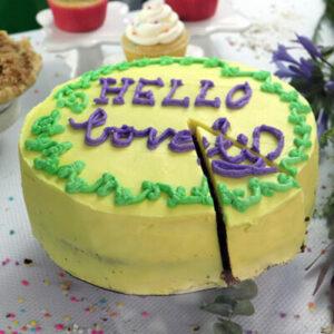 9″ Vegan Custom Cake